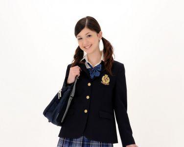 [RQ-STAR美女] NO.0348 Amy Kubo 久保エイミー Student Style[170P]