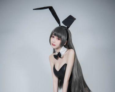 [Cosplay][你的负卿]学姐兔女郎[19P]