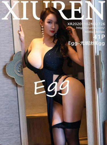 [XiuRen秀人网] 2020.11.02 No.2726 Egg-尤妮丝Egg[42P]