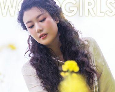 [TouTiao头条女神]2020.04.20 钟晴 油菜花的晴天[9P]