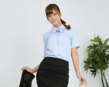 [RQ-STAR美女] NO.00856 Ami Kawase 河瀬杏美 Office Lady[80P]
