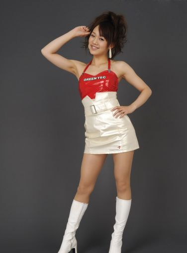 [RQ-STAR美女] NO.0132 Reina Fuchiwaki 淵脇レイナ Race Queen – Green Tec[122P]