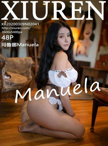 [XiuRen秀人网]2020.03.09 No.2041 玛鲁娜Manuela[39P]