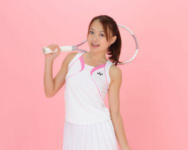 [RQ-STAR美女] NO.00434 Rina Itoh 伊東りな Tennis Wear[100P]