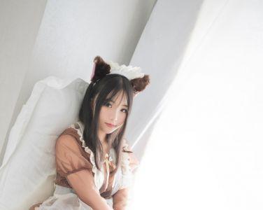 兔玩映画 - 透明女仆装[43P]