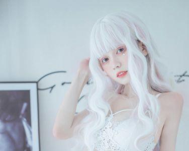 [Cosplay]你的负卿 - 白色蕾丝私房[33P]