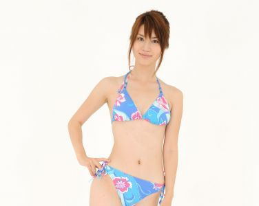 [RQ-STAR美女] NO.0042 Aki Kogure 苤贍丐五 Swim Suits - Blue[56P]