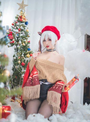 [Cosplay]rioko凉凉子 - 贝尔法斯特 圣诞装[24P]