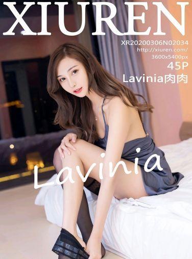 [XiuRen秀人网]2020.03.06 No.2034 Lavinia肉肉[36P]