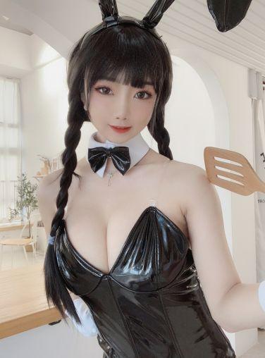 [Cosplay]鬼畜瑶 - 黑色兔女郎[40P]