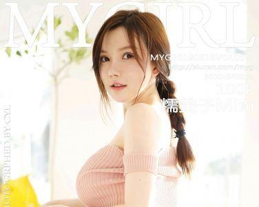 [MyGirl美媛馆]2019.08.16 VOL.381 糯美子Mini-新人[97P]