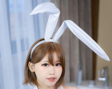 [喵糖映画]VOL.041 白色兔女郎[42P]