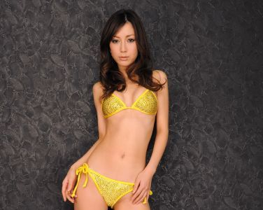 [RQ-STAR美女] NO.00118 Mayu Ohya 大矢真夕 Swim Suits - Yellow[122P]