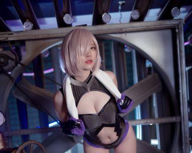 [Cosplay]二佐Nisa - Fate玛修个人训练[26P]