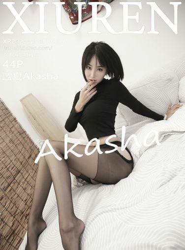 [XiuRen秀人网]2020.04.24 No.2187 蓝夏Akasha[45P]
