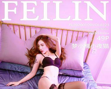 [FEILIN嗲囡囡]2020.01.09 VOL.223 梦小楠小夜猫[41P]