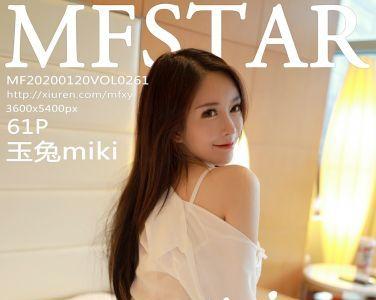 [MFStar模范学院]2020.01.20 VOL.261 玉兔miki[61P]