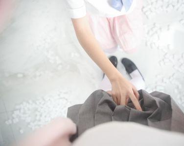 萝莉风COS 桜桃喵&鳗鱼霏子 – 百合 [20P]