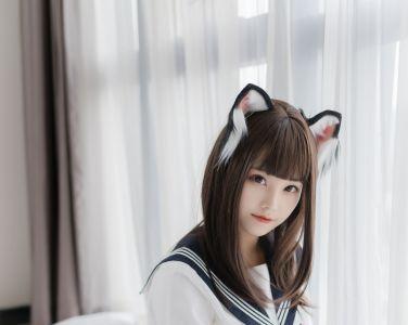 喵糖映画 VOL.002 JK白丝 [40P]