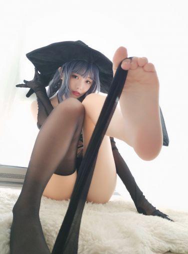 [Cosplay]雯妹不讲道理 - 女巫[32P]