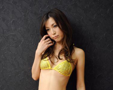 [RQ-STAR美女] NO.0119 Mayu Ohya 大矢真夕 Swim Suits – Yellow[58P]