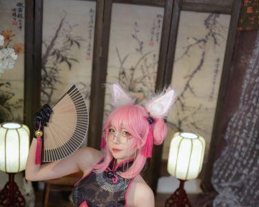 [Cosplay]二佐Nisa - Fate旗袍狐[28P]