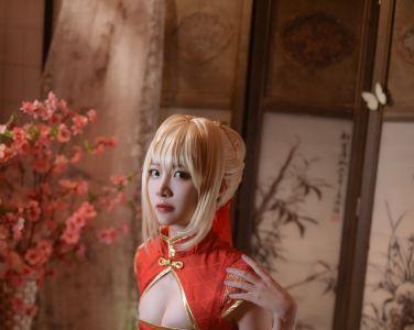 [Cosplay]二佐Nisa - Fate尼禄旗袍[20P]