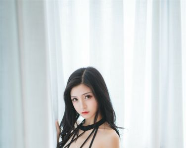 兔玩映画系列 Vol.059 夏日泳装 黑色泳装[39P]