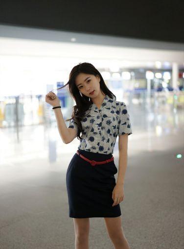 杨紫嫣Cynthia 临时空姐[47P]