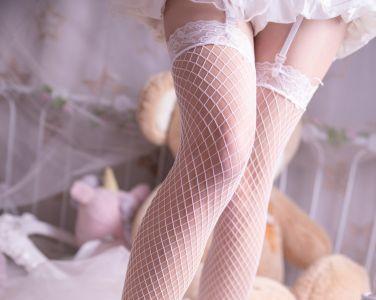 兔玩映画 - 花嫁白网袜[46P]