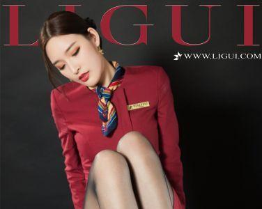 [Ligui丽柜]2019.10.09 雪糕 丝柔护理之南航空姐[99P]