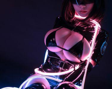 [Cosplay]韶陌陌 - 暗黑护士[30P]