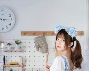 [Cosplay]桜桃喵 - 清纯女仆装[34P]