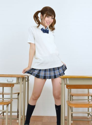 [RQ-STAR美女] NO.00820 Chitose Shinjyo 新莊千歳 School Girl[90P]