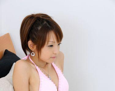 [RQ-STAR美女] NO.0098 Mio Aoki 青木未央 Swim Suits - Pink[67P]