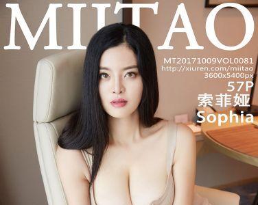 [MiiTao蜜桃社]Vol.081 索菲娅Sophia[58P]