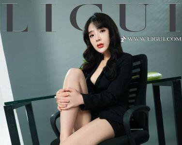 [Ligui丽柜]2019.10.14 网络丽人 Model 《职场新秀》- 赵蕊[44P]
