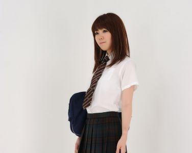 [RQ-STAR美女] NO.0378 Haruka Ikuta 生田晴香 School Girl[119P]