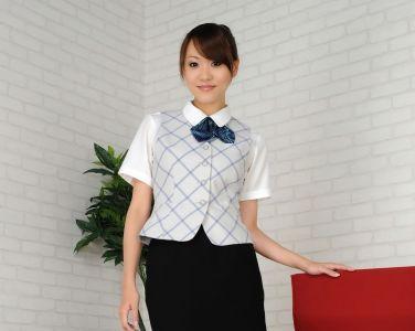 [RQ-STAR美女] NO.0433 Saki Ueda 植田早紀 Office Lady[90P]