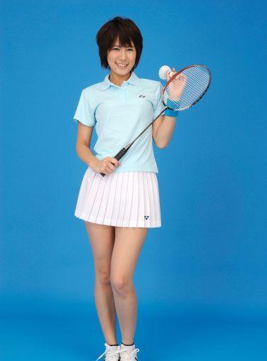 [RQ-STAR美女] NO.0081 Akiko Fujihara 藤原明子 Badminton Wear[94P]
