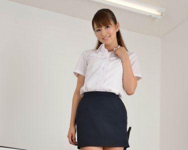 [RQ-STAR美女] NO.00688 Shizuka Nakagawa 中川静香 Office Lady[80P]