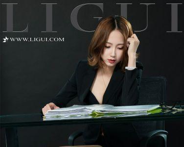 [Ligui丽柜]2019.10.21 网络丽人 Model《职场新秀》-RITA[67P]
