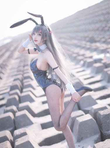 [喵糖映画] 兔美系列 TML.011 麻衣学姐兔女郎[20P]