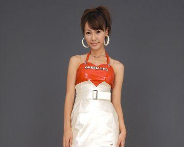 [RQ-STAR美女] NO.0065 Tomoe Nakagawa 中川知映 Race Queen - 2008 Green Tec[111P]