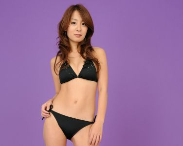 [RQ-STAR美女] NO.00113 Yuuki Aikawa 相川友希 Swim Suits - Black[110P]