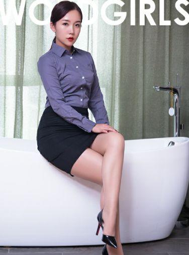 [TouTiao头条女神]2020.05.17 艾静香 肉丝小秘书[9P]