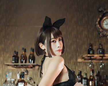 萌妹奈汐酱nice - 酒吧老板娘[18P]
