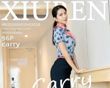 [XiuRen秀人网]2020.03.02 No.2018 carry[29P]