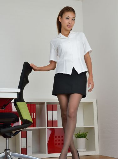 [RQ-STAR美女] NO.00987 Megu Aoyama 青山めぐ Office Lady[110P]