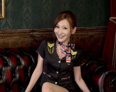 [RQ-STAR美女] NO.01016 Lina りな Cabin Attendant[50P]